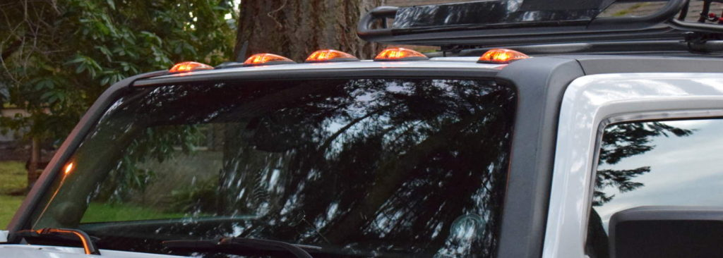 Solar/Battery LED Wireless Cab Running Lights - Cab Over America